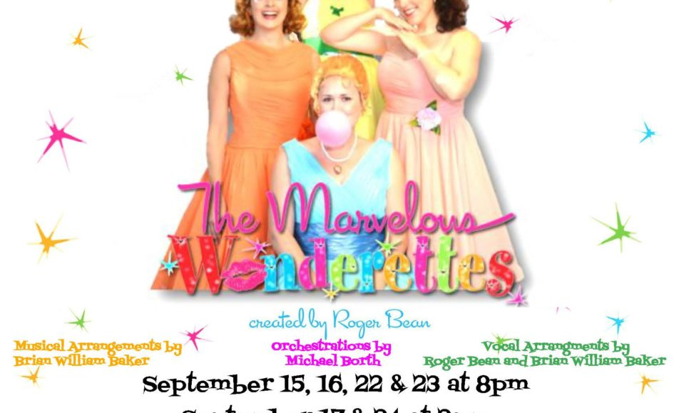 GET TICKETS:  Tidewater Players present The Marvelous Wonderettes – 9/22 – 9/24