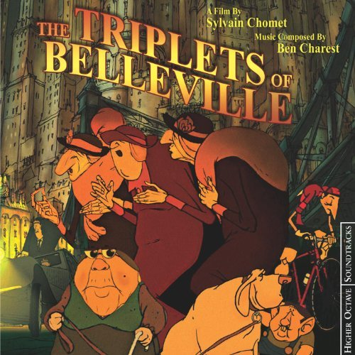 GET TICKETS:  Triplets of Belleville (B&W Film Series)