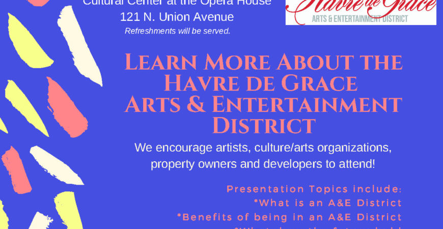 HdG Arts & Entertainment District Workshop – April 26