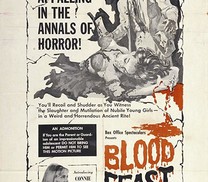 GET TICKETS:  Blood Feast (Herschell Gordon Lewis Trilogy)