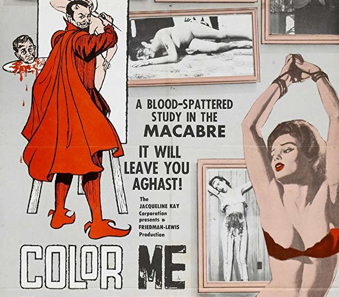 GET TICKETS:  Color Me Blood Red (Herschell Gordon Lewis Trilogy)
