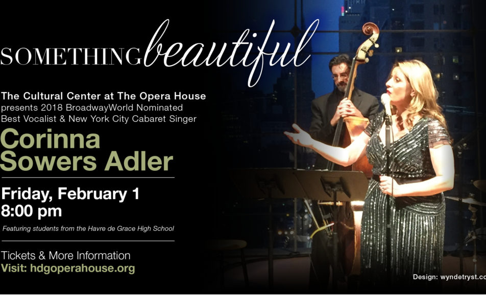 GET TICKETS: Corinna Sowers Adler: Something Beautiful
