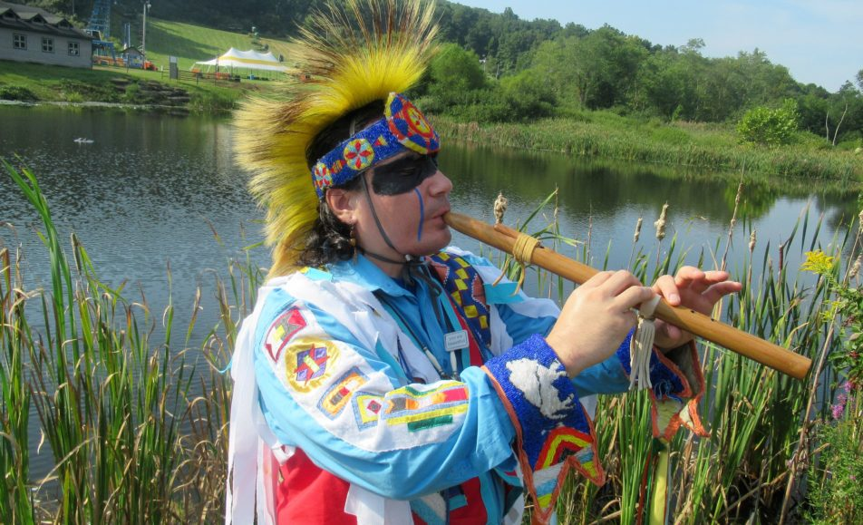GET TICKETS: Delwin Fiddler: Sacred White Buffalo Pipe