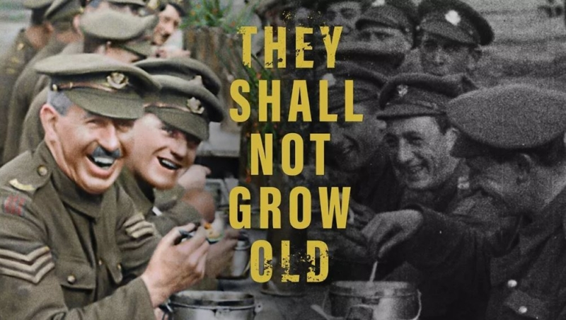 "GET TICKETS:  American Legion Post No. 47 presents ""They Shall Not Grow Old"""