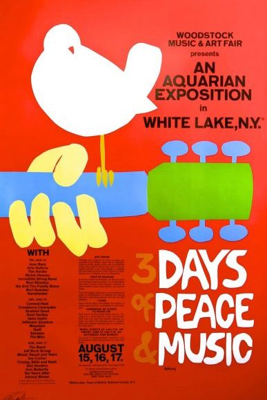 GET TICKETS:  Woodstock (50th Anniversary)