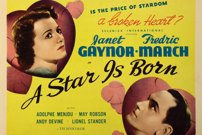 GET TICKETS: A Star Is Born (1937)