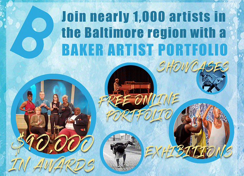 GET TICKETS: Baker Artist Portfolios Info Session