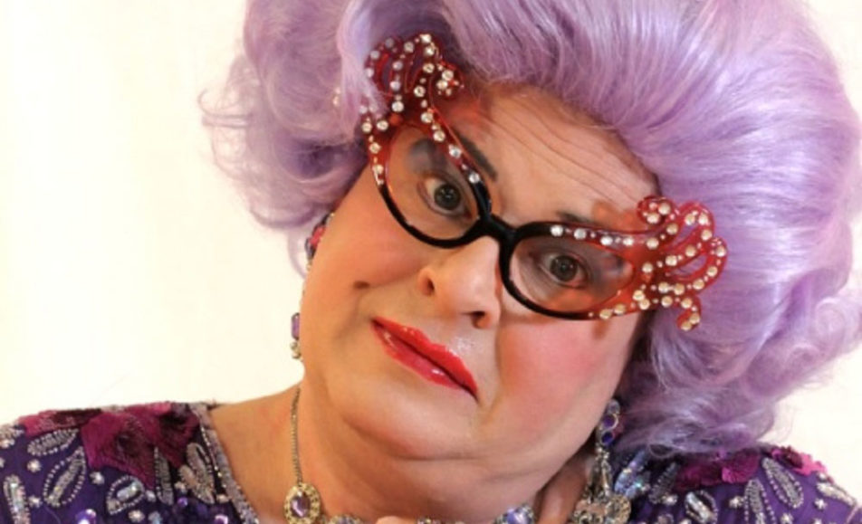 GET TICKETS: The Havre de Grace Arts Collective presents: One Dame Night of Comedy (Featuring Dame Edna's Honorary Understudy)