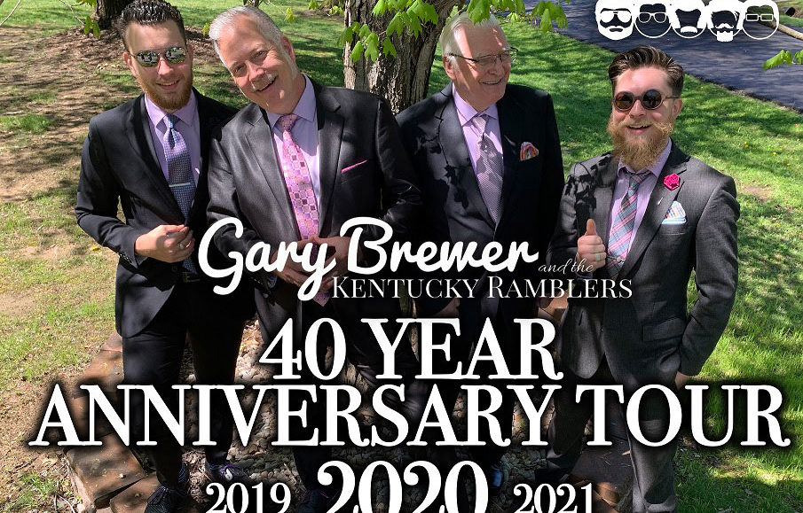 GET TICKETS: Gary Brewer and the Kentucky Ramblers 40th Anniversary Celebration Tour