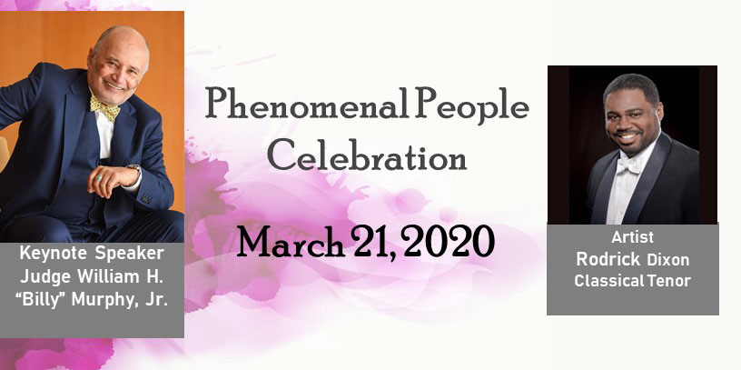 "GET TICKETS: The Colored School Foundation Presents ""Phenomenal People Celebration"""