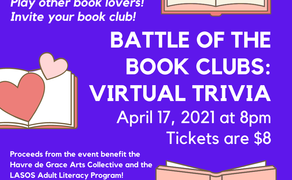 GET TICKETS: Battle of the Book Clubs: Virtual Trivia