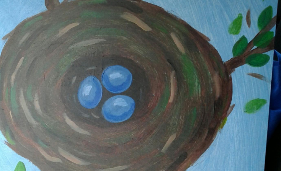 GET TICKETS: The HdG Arts Collective Youth Program presents: Paint Along – Bird's Nest in a Tree
