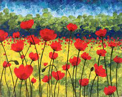 GET TICKETS: The HdG Arts Collective Youth Program presents: Paint Along: Memorial Day Poppies