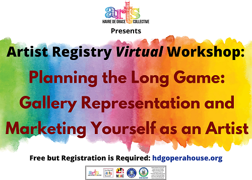 """GET TICKETS: """"Planning the Long Game: Gallery Representation and Marketing Yourself as an Artist"""""""